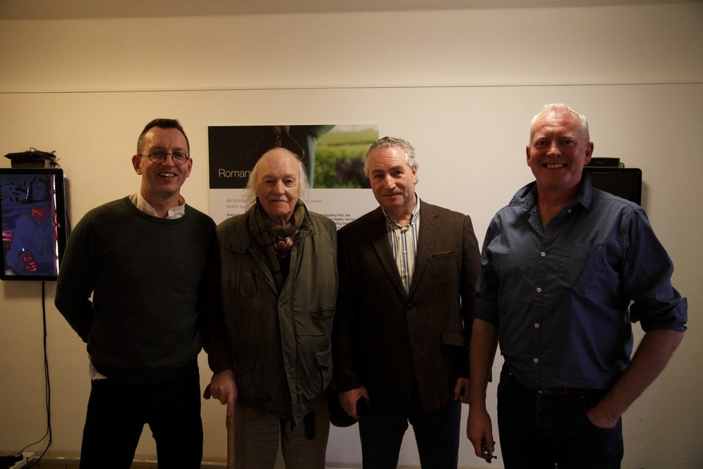 Tom LLoyd, Walter LLoyd, Billy Welch (Shera Rom), Adrian Lochhead (Eden Arts)