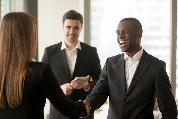 Meeting new people -
