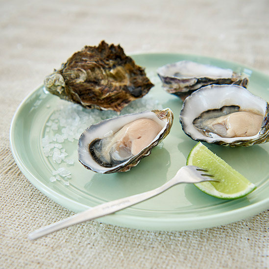 Grass Tree Kitchen's Oysters with Lime