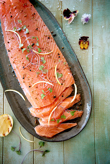 Grass Tree Kitchen's Fresh Salmon