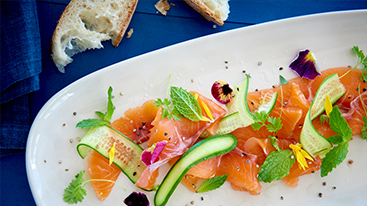 Grass Tree Kitchen's Salmon Summer Salad