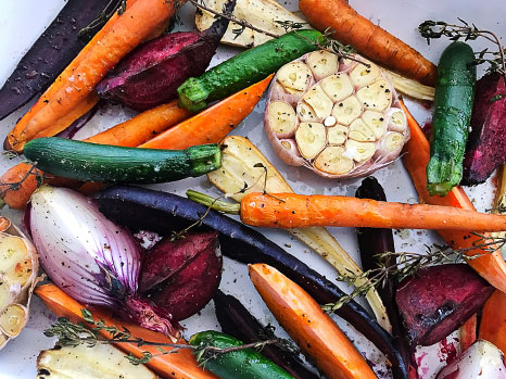 Grass Tree Kitchen's Roasted Vegetables