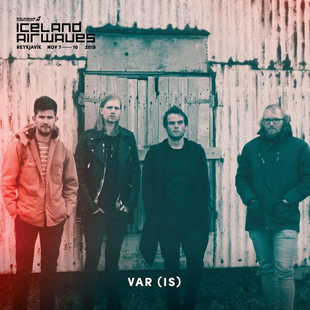 Join us at this years @icelandairwaves 🖤⚔️🖤 See you in November! #icelandairwaves #icelandairwaves2018 #VARwaves