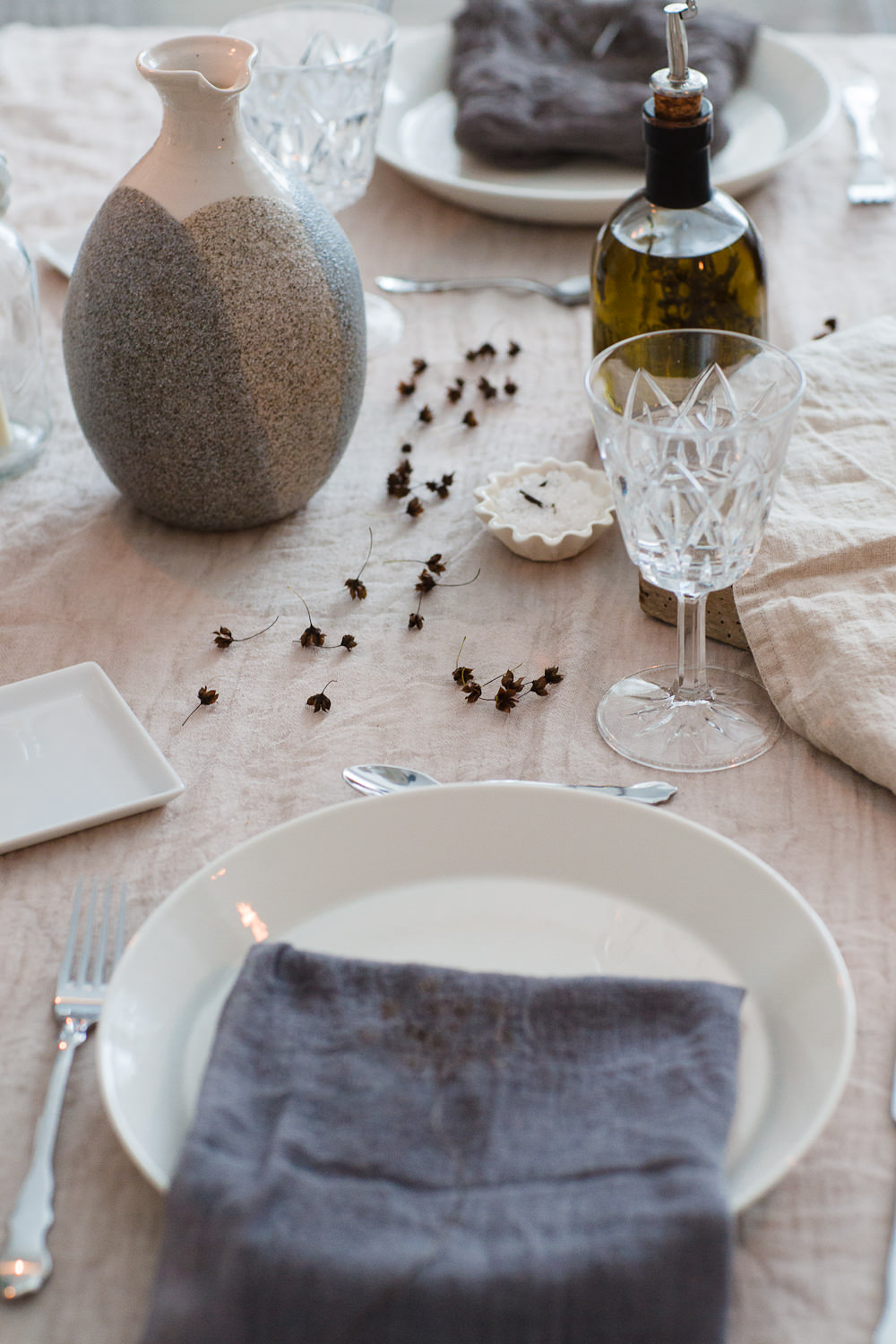 Scandinavian tablesetting