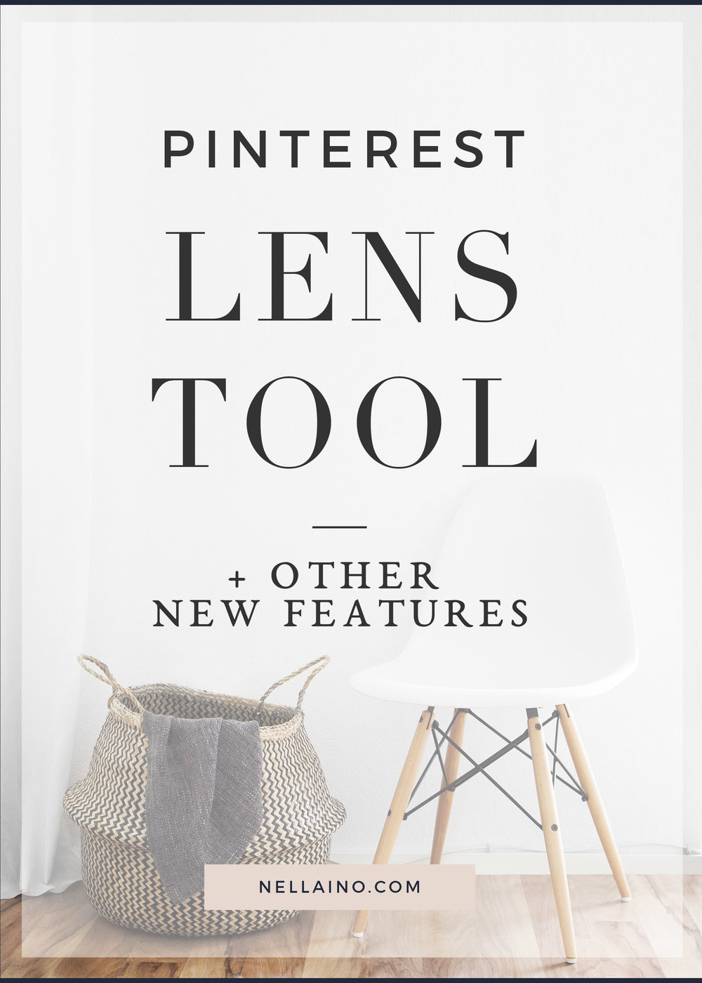 Pinterest has launched a new discovery tool for visual search. Now you can search new ideas based on visuals. Visit: nellaino.com/blog for more info!