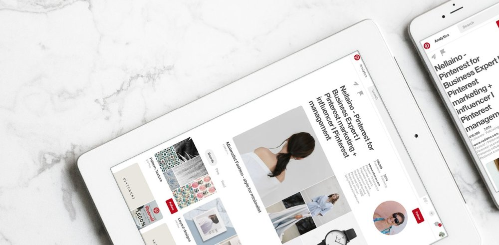 Pinterest tips and marketing advice from Nellaino.