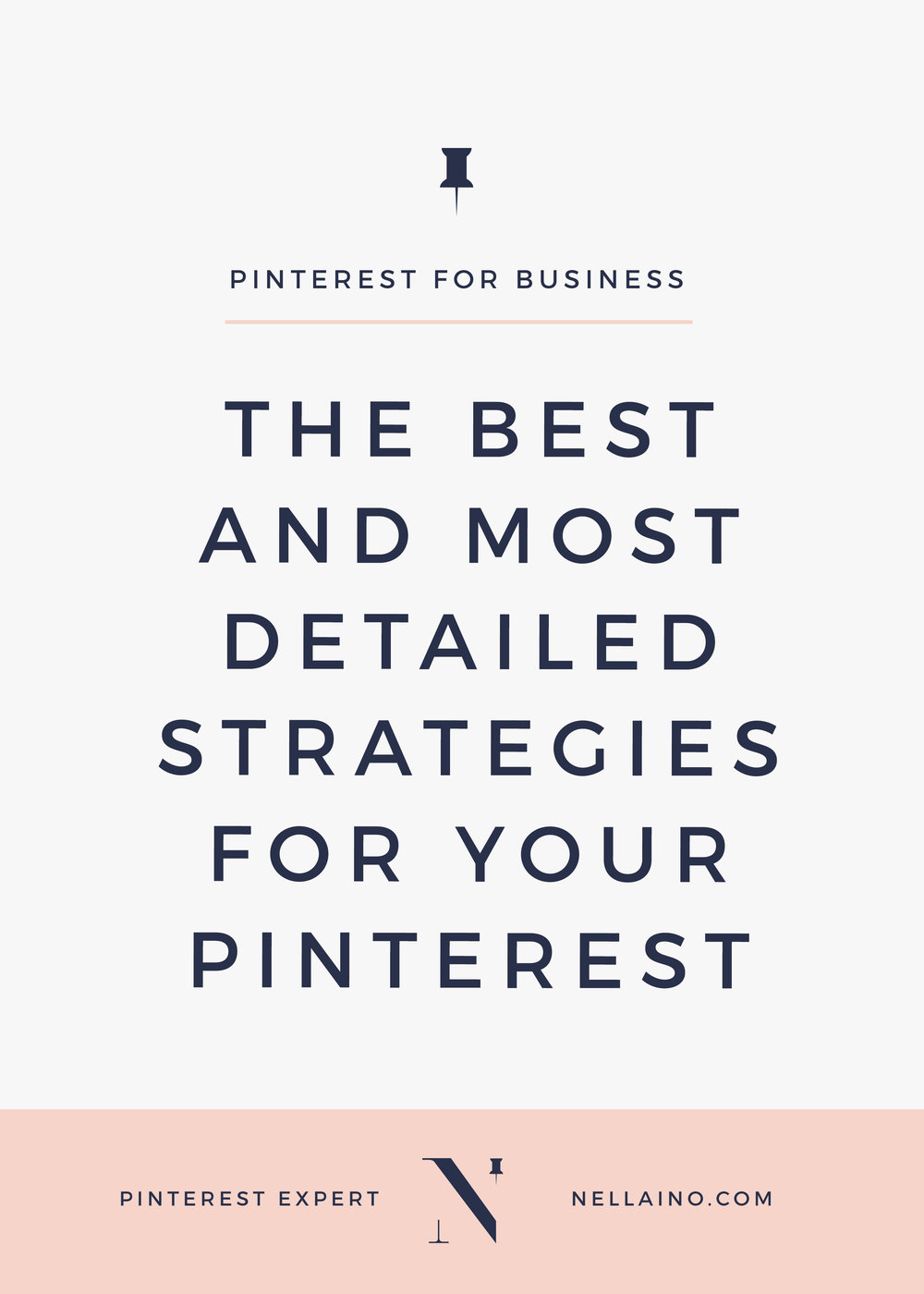 The best Pinterest strategies for small businesses via Nellaino