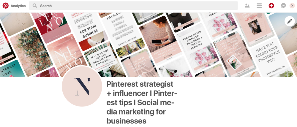 Pinterest's new update of dynamic cover image by Nellaino