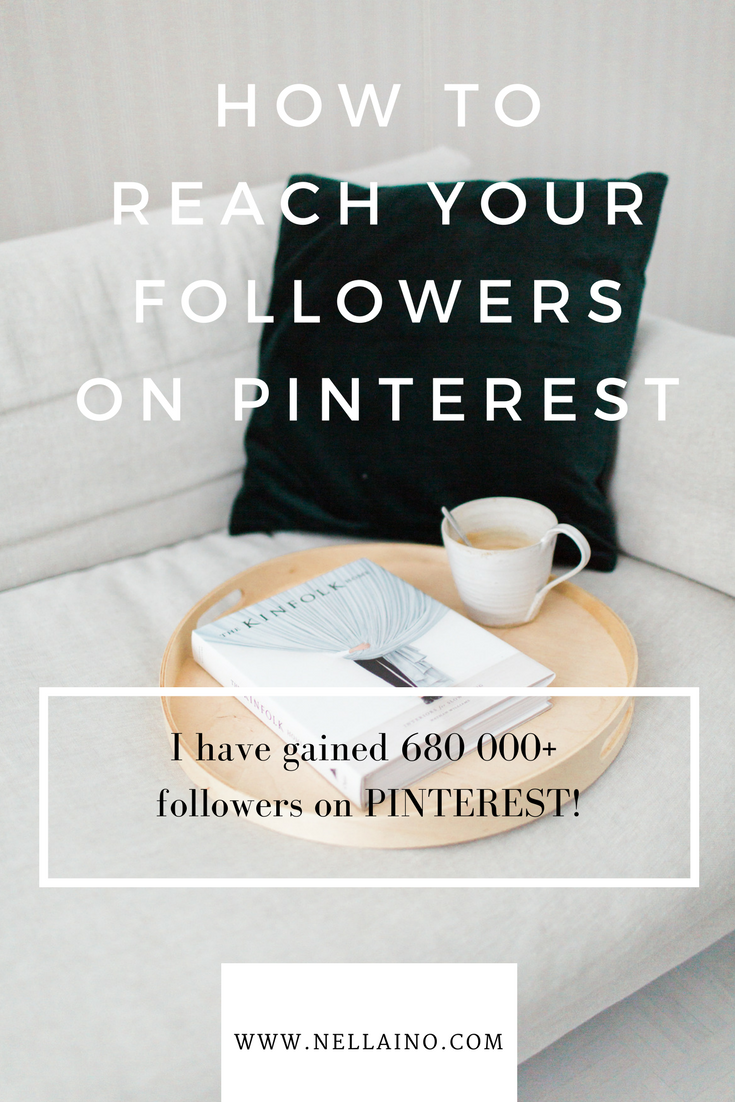 Pinterest is more about followers again. Make your content visible to your followers on Pinterest. Visit www.nellaino.com to read more about newest updates on Pinterest. #pinteresttips #pinterestexpert #pinteres