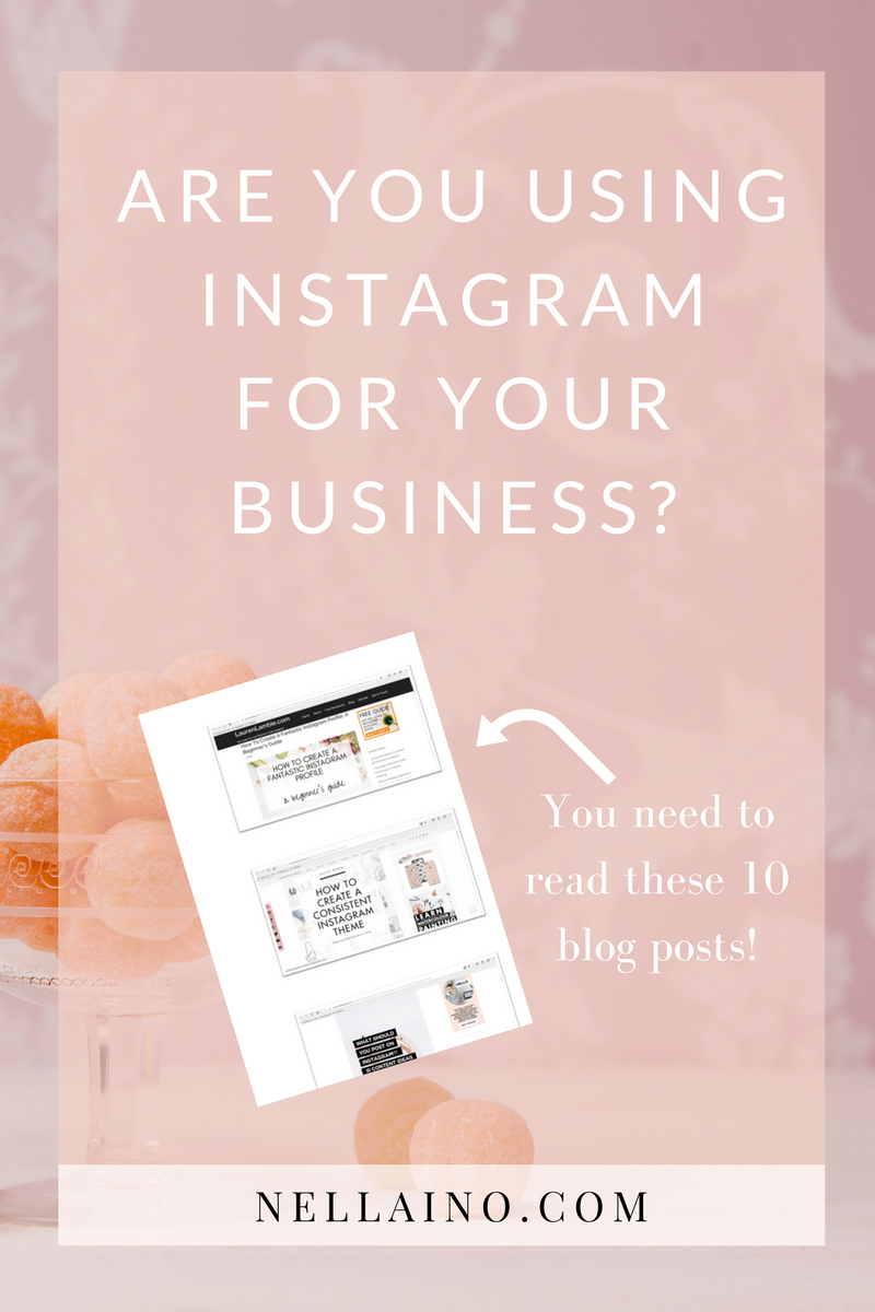 Instagram for business. Read the list of best Instagram blogs www.nellaino.com #instagram #pinteresthelp #instagrammarketing #instagramtips