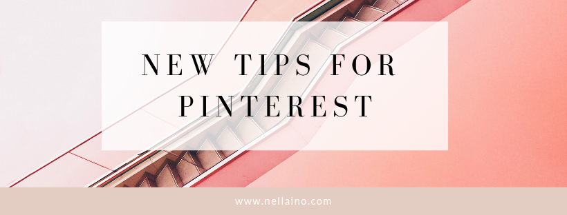 PINTEREST STRATEGY for 2019 by Nellaino www.nellaino.com