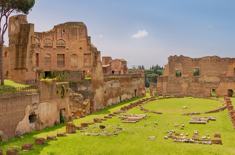 RUINS OF THE PALATINO • Rome