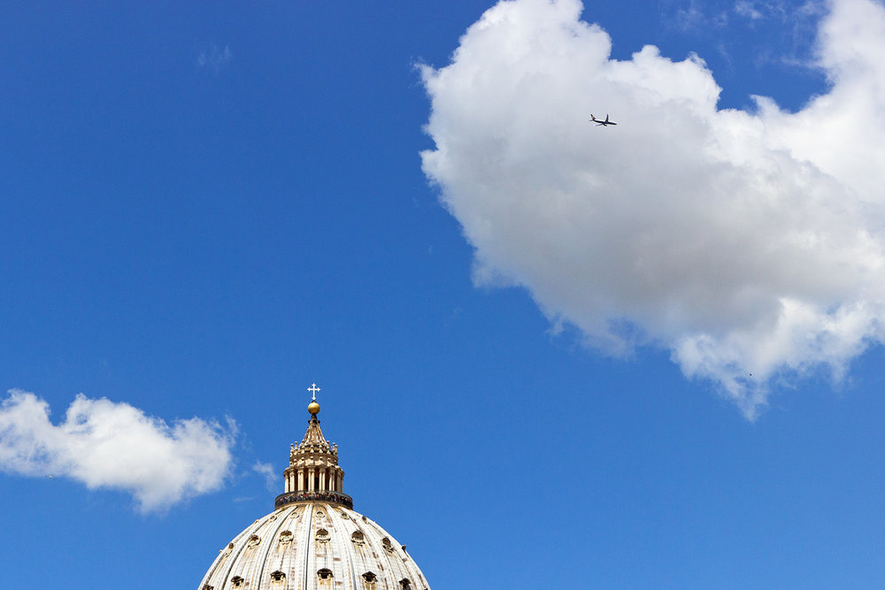 DOME OF ST PETER'S BASILICA • Rome