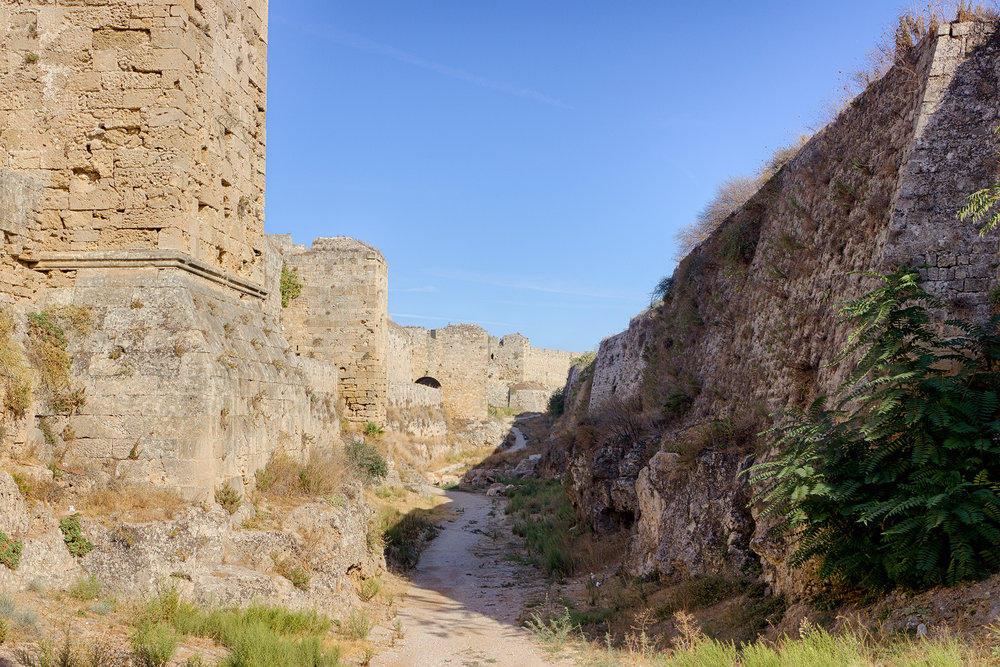 WALLS WITHIN THE FORT • Rhodes