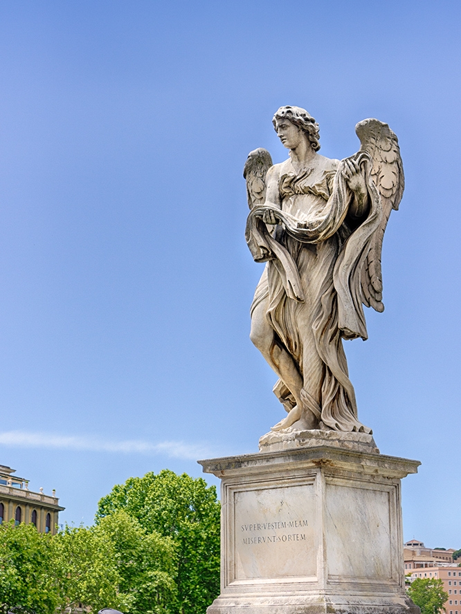 STATUE ON PONTE SANT'ANGELO • Rome