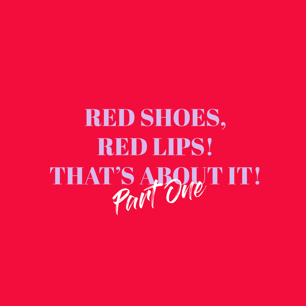 "EDIT: 21ST DEC 2017  ""If there is one trend, I know which will never die out is the red shoe. I love how edgy a red heel or flat looks on any outfit!    READ MORE..."