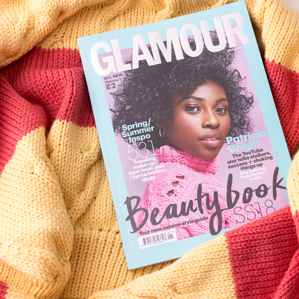 #INSTAEDIT    Looks who's in Glamour Uk Mag     READ MORE...
