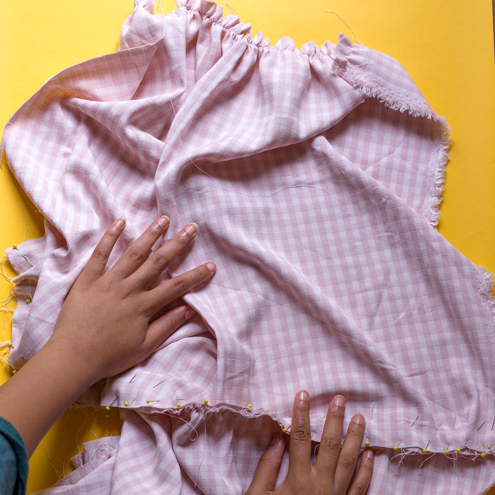 Hands on It! - Behind the seams of making Brooklyn's Gingham Dress