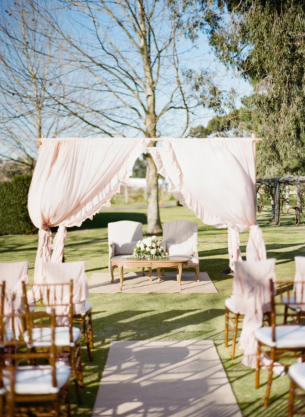Wedding Ceremony Furniture Perth Bride + Groom