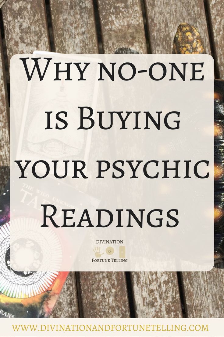 Why No-one is Buying your Psychic Readings — Lisa Boswell
