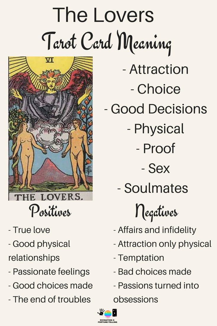 True divination of love for Tarot