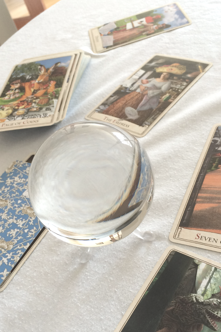 When you're running a Tarot, psychic or spiritual reading business, you need to begin thinking about your health. Healing is important in any industry, but this is especially true if you're running on your spirituali.png