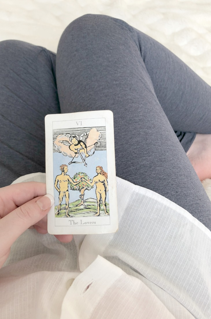 The Lovers is one of the most obvious cards which predicts love, but don't worry if you do not have it in your spread; there are others!