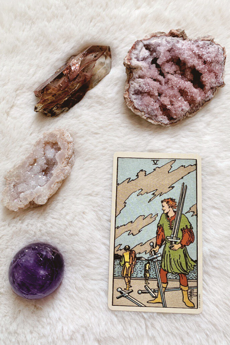 Five of Swords: Predictive Tarot Card Meanings — Lisa Boswell