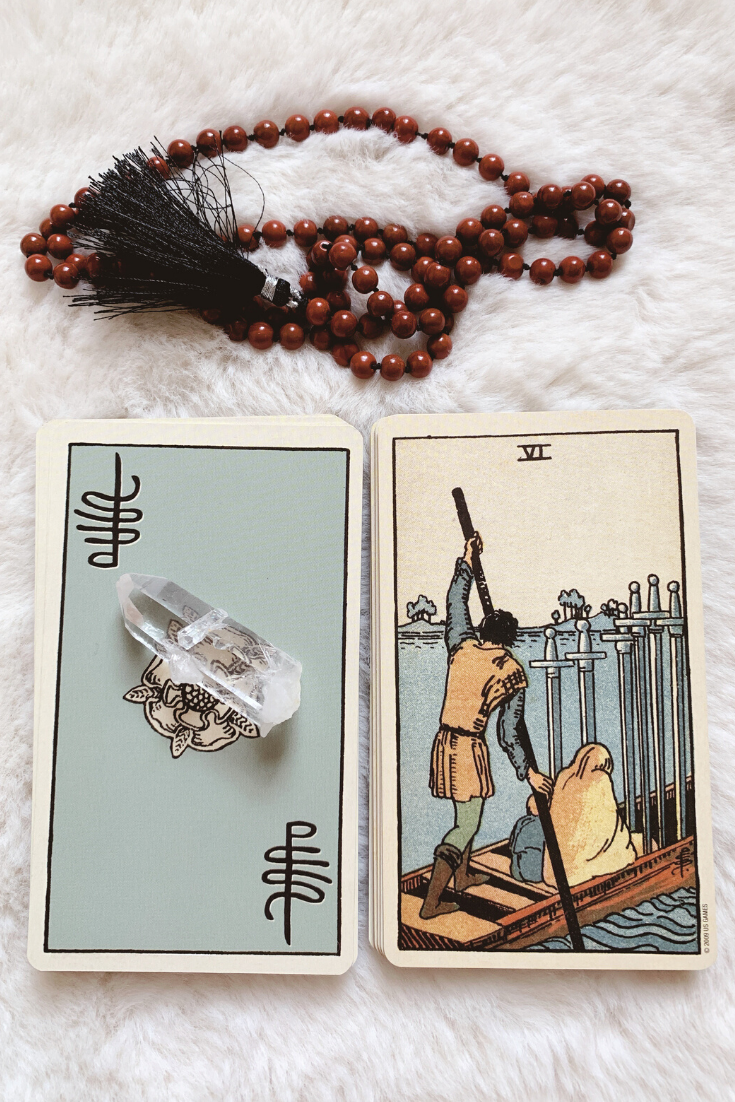 Six of Swords: Predictive Tarot Card Meanings — Lisa Boswell