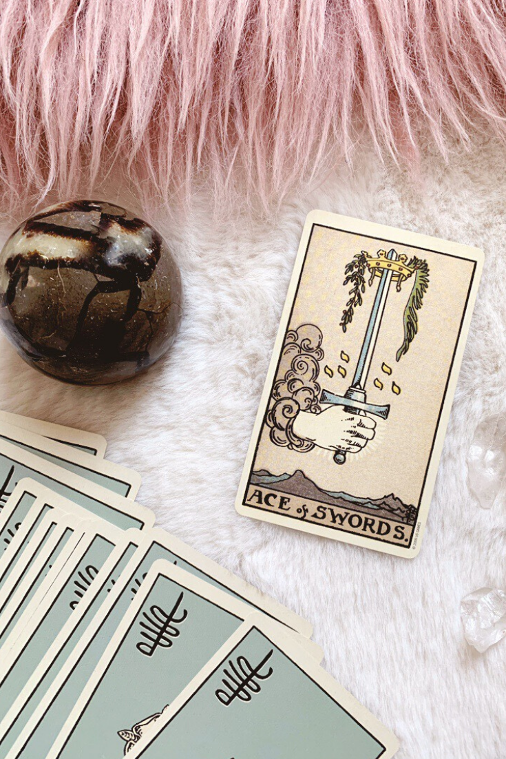 Ace of Swords: Predictive Tarot Card Meaning — Lisa Boswell