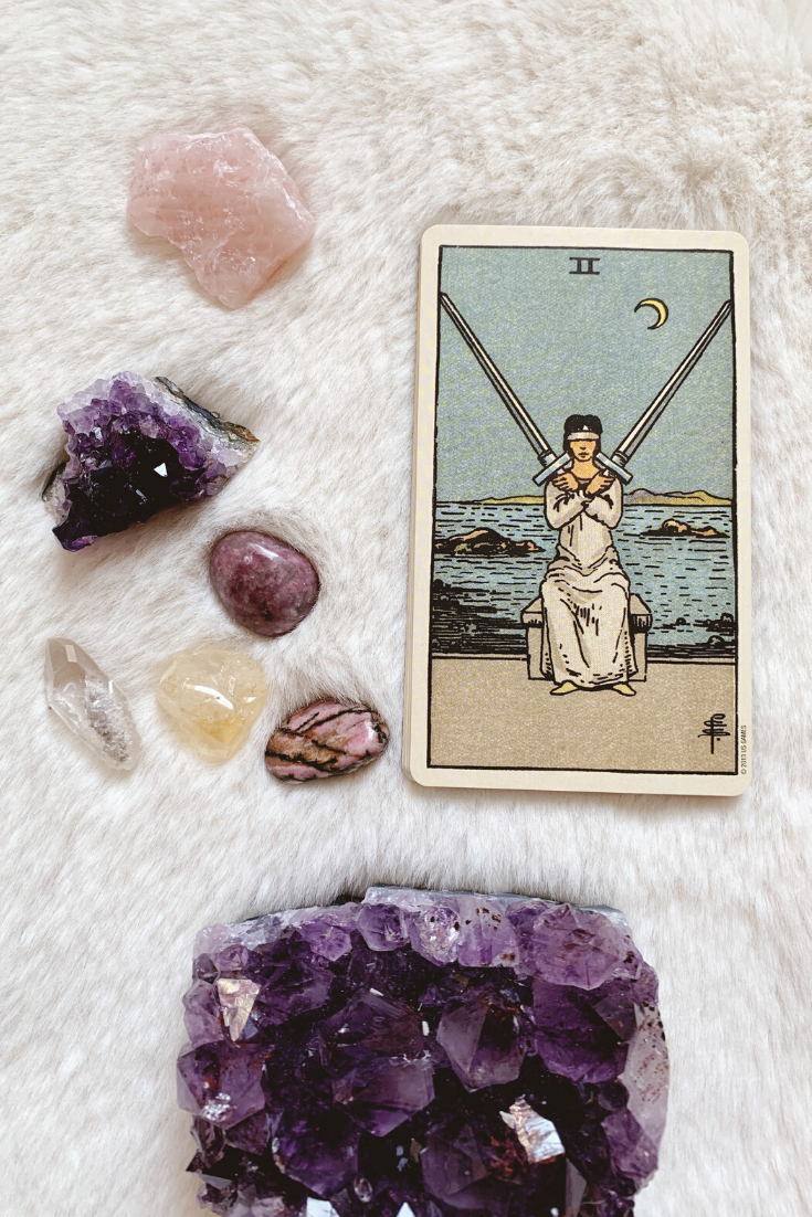 Two of Swords: Predictive Tarot Card Meanings — Lisa Boswell