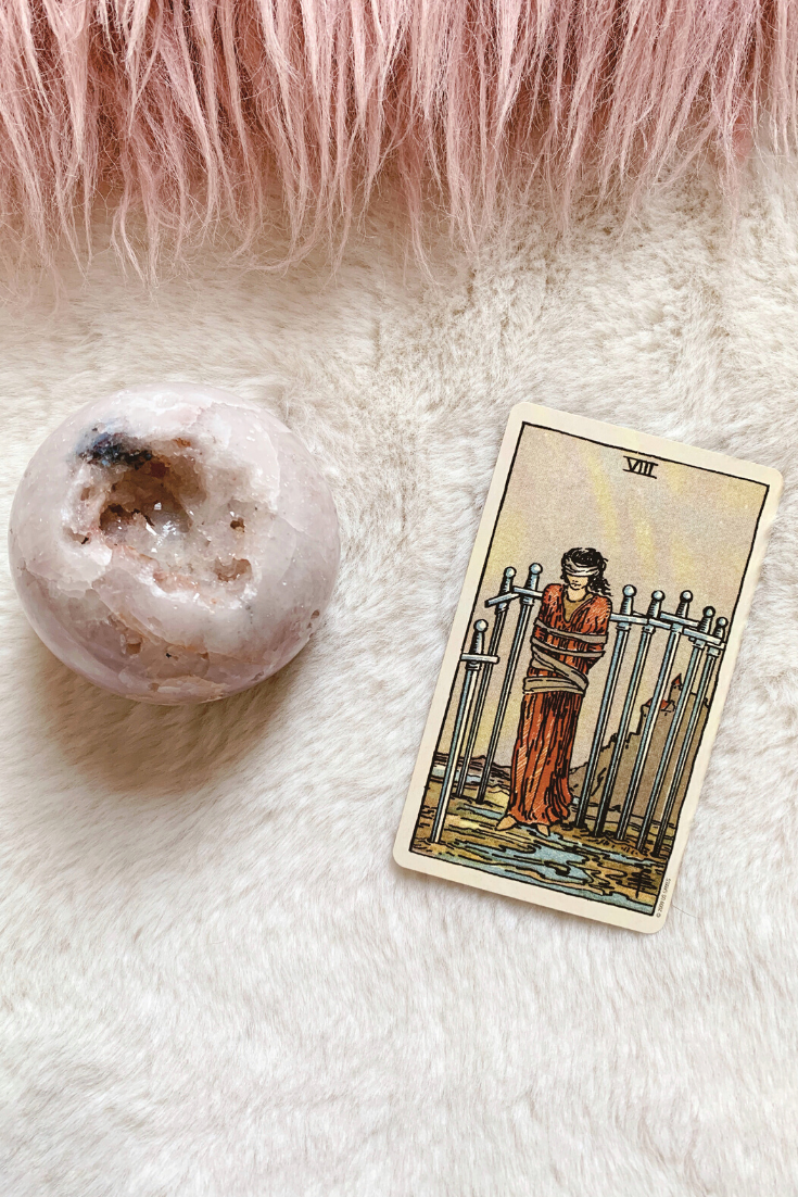 Eight of Swords: Predictive Tarot Card Meaning — Lisa Boswell