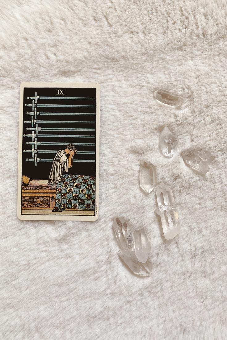 Nine of Swords: Predictive Tarot Card Meanings — Lisa Boswell