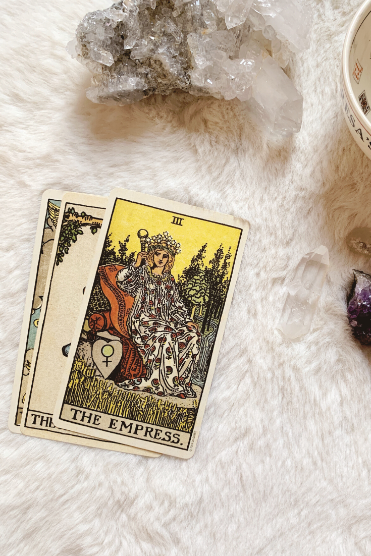 The Empress: Predictive Tarot Card Meanings — Lisa Boswell