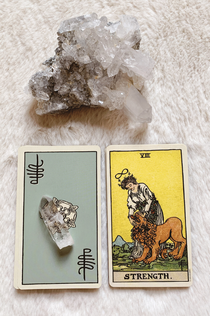 Strength: Predictive Tarot Card Meanings — Lisa Boswell