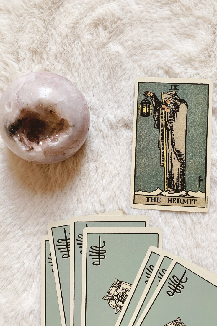 The Hermit: Predictive Tarot Card Meaning — Lisa Boswell