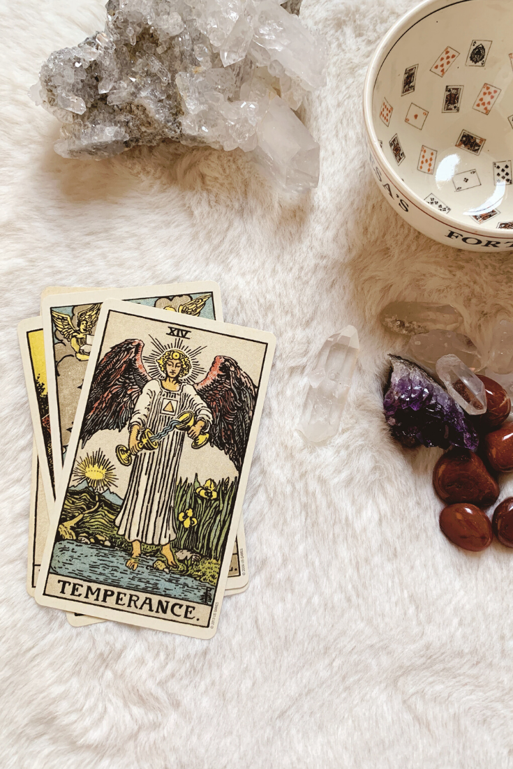 Temperance: Predictive Tarot Card Meanings — Lisa Boswell