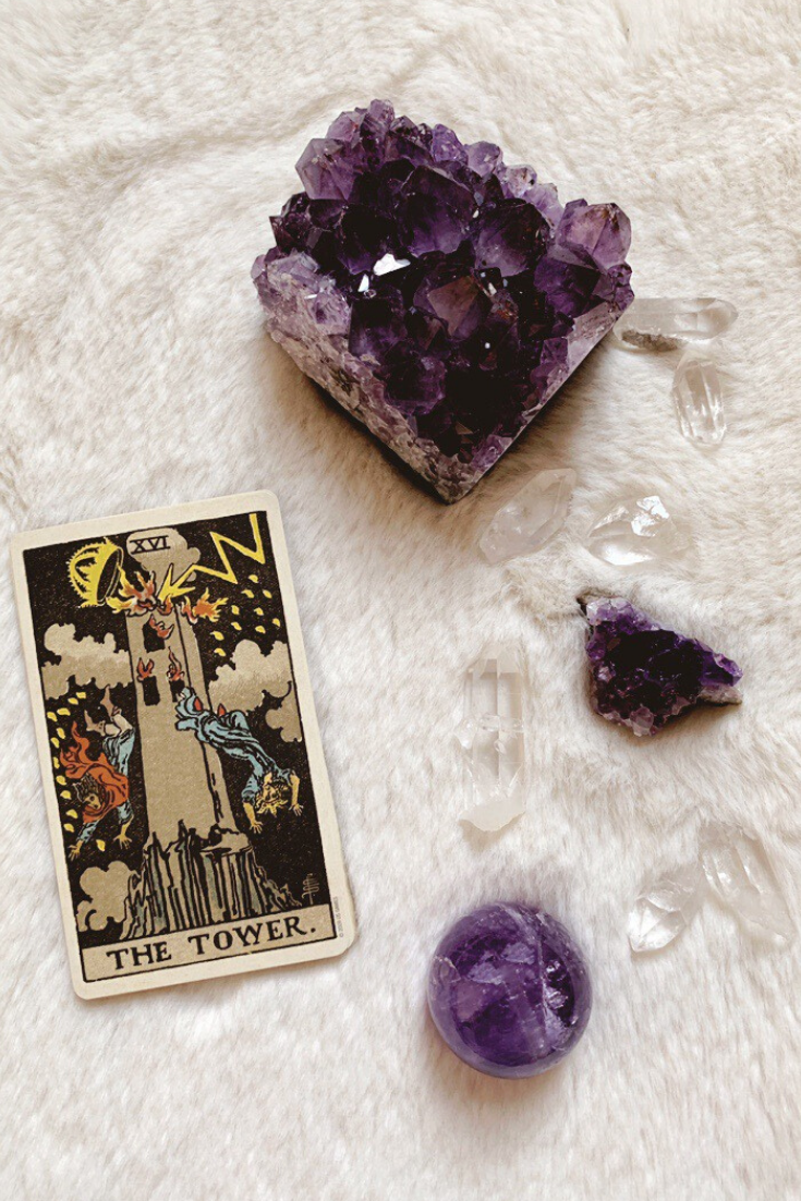 The Tower Predictive Tarot Card Meanings Lisa Boswell