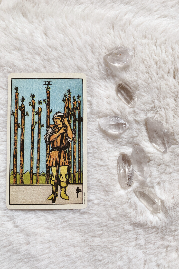 The Nine of Wands: Predictive Tarot Card Meanings — Lisa Boswell