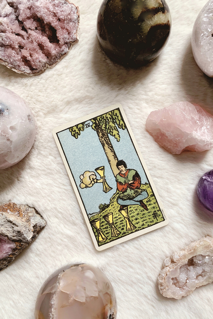 Four of Cups: Predictive Tarot Card Meanings — Lisa Boswell