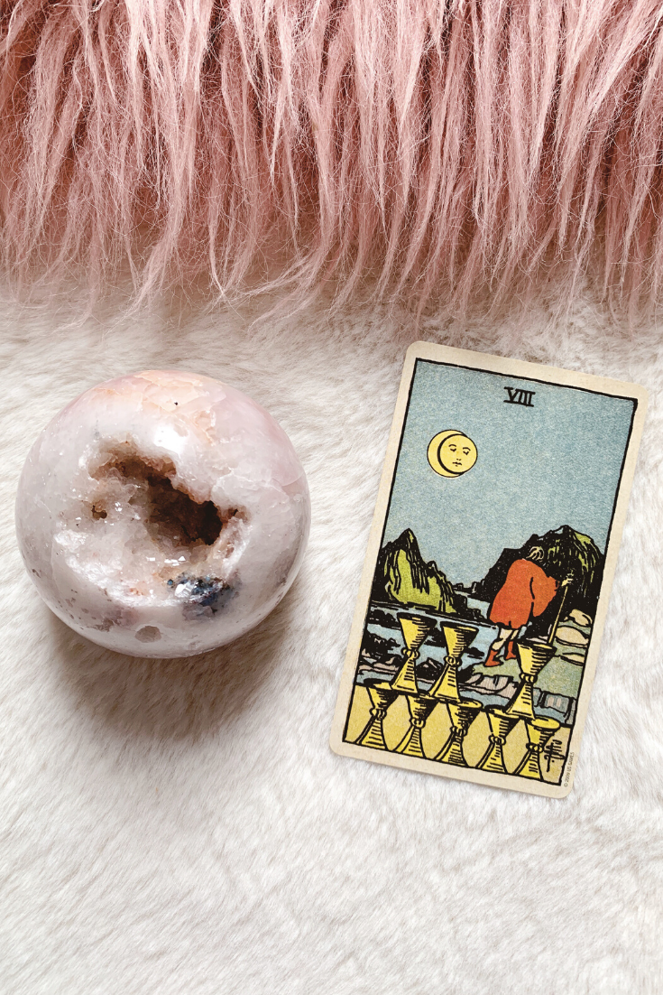 Eight of Cups: Predictive Tarot Card Meanings — Lisa Boswell