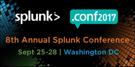 Splunk .conf2017 - Conférence | 25-28 septembre 2017 | WashingtonLe .conf est l'événement Splunk le plus attendu de l'année! Notre Président et chef d'entreprise y sera afin de promouvoir notre offre de services en tant que partenaire officiel de Splunk. Contactez-nous pour organiser une rencontre!EN SAVOIR PLUS