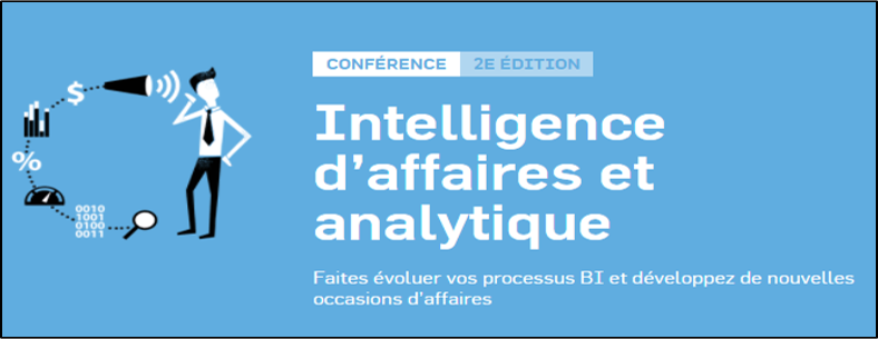 Intelligence d'affaires et analytique - Conference  | November 15, 2017  |  MontrealYou will find us in the sponsors section of the event with ESI Technologies and Splunk. We will be demonstrating how machine data can enrich your business analytics tools!LEARN MORE
