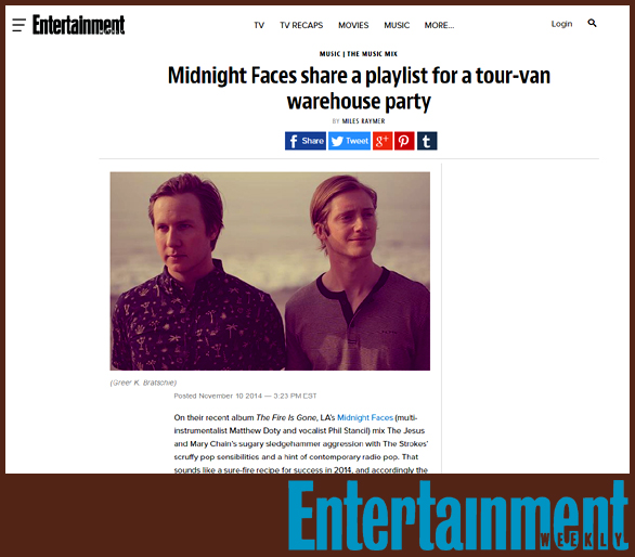MIDNIGHT FACES | EW