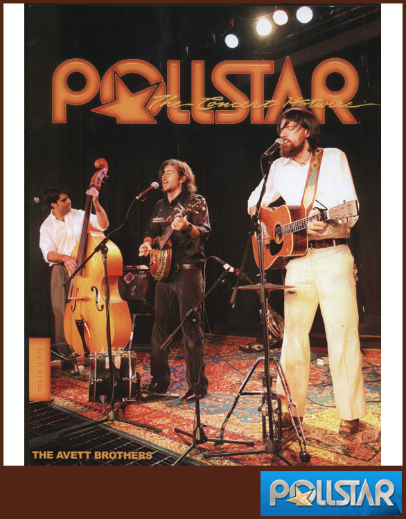 THE AVETT BROTHERS | POLLSTAR