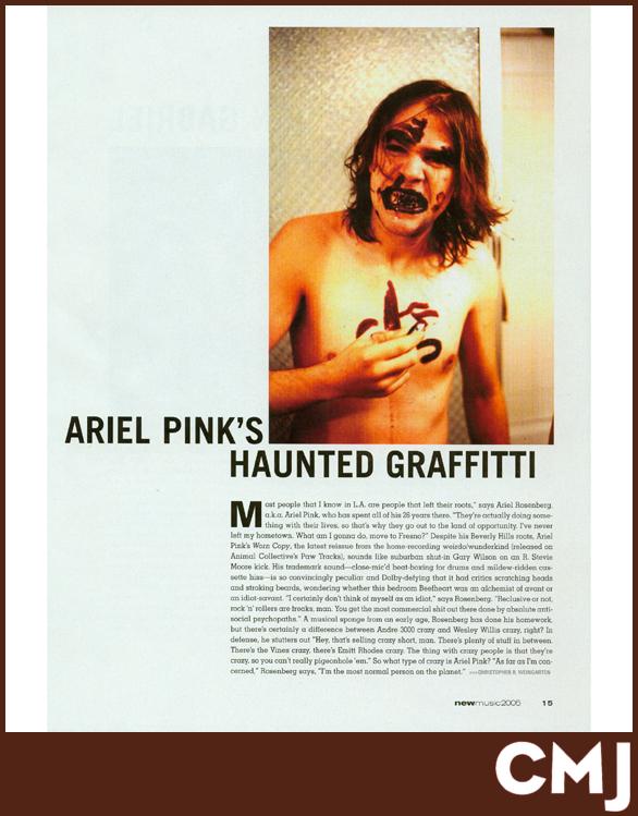 ARIEL PINK | CMJ