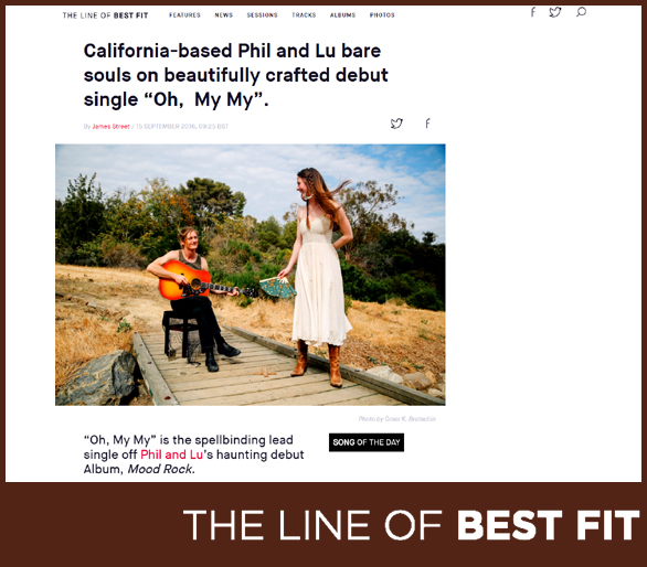 PHIL AND LU | THE LINE OF BEST FIT