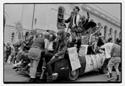 Queercore: How To Punk A Revolution   : (Caption) Homocore float at SF Gay Pride 1988: GB Jones and Justin Vivian Bond at center. Photo credit: Dan Nicoletta.  Click for hi-res.