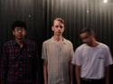 Sleepspent  (L-R): Grant Gonzalez, Austin North, Josh Mendoza. Photo credit: Jesse Maynes.  Click for hi-res.