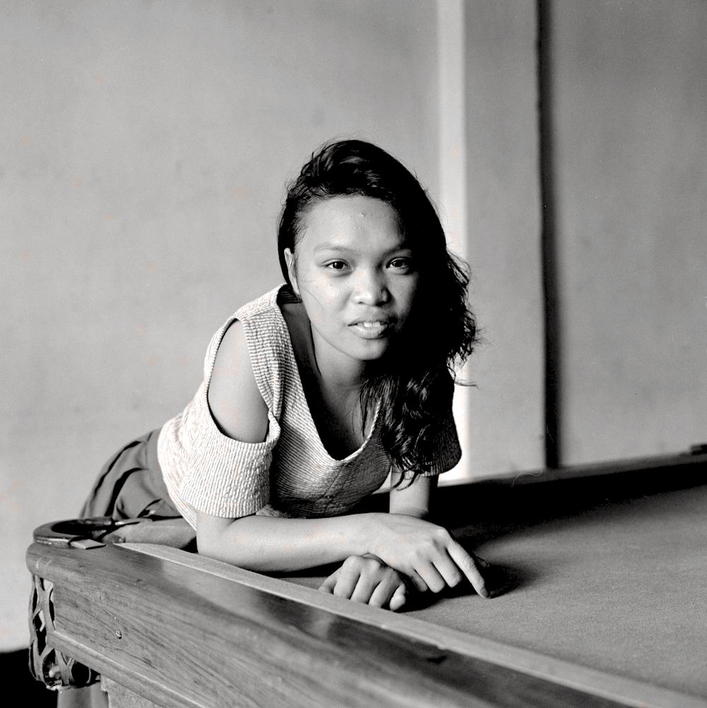 Pool Table Portrait, Subic City, 1989